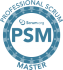 PSMI Professional Scrum Master Agile Trainer Zertifikat Logo