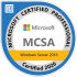 Microsoft Certified Professional System Administrator Windows Server 2016 MCSA